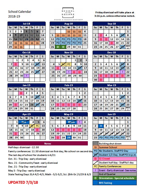 year to year calendar