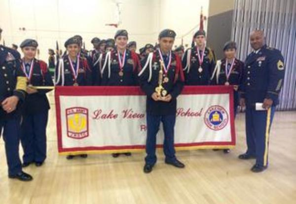 City Wide Patoon Drill, Individual Rifle and Color Guard Competition