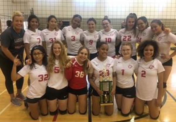 Girls Volleyball Wins the Westinghouse Warrior Invite