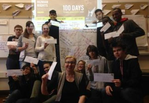 Letters to Amnesty International from LV English Language Learners