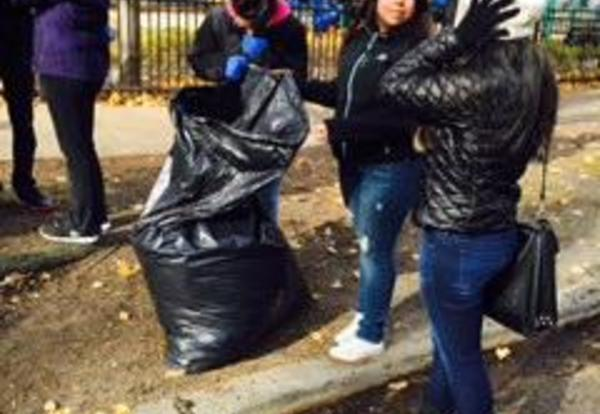 Conservation Club and ROTC Clean the Streets for a Safe Winter