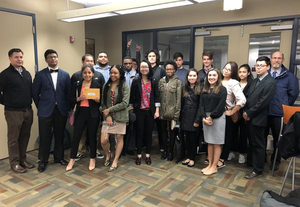 LV Students Compete in the Junior Achievement's Company Program and 'You're Hired' Program
