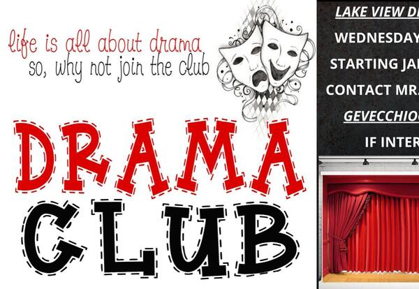 Lake View Drama Club Meeting