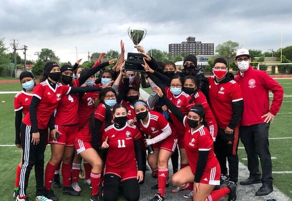 Girls Soccer Wins Back-To-Back City Cup
