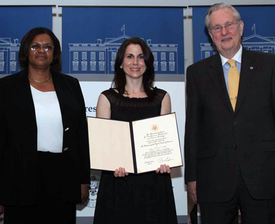 SOCSD teacher, Amy Ellis, was honored in Washington, D.C. for the Presidential Award for Excellence in Science and Mathematics Teaching.