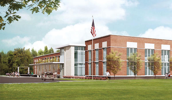 Partnership School architectural rendering
