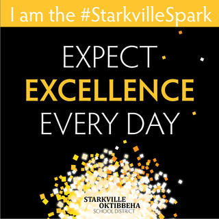 Graphic of District mission: Expect Excellence Every Day