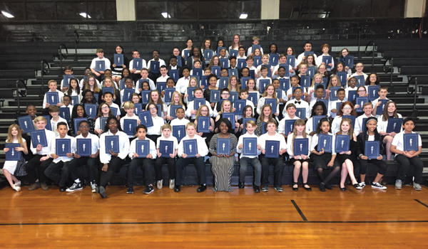 AMS Celebrates 2018 National Junior Honor Society Inductees