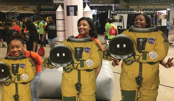 AMS students visit NASA at career expo