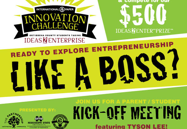 Ideas 2 Enterprise:  Innovation Challenge Announced for Middle and High School Students; Kickoff March 22 @ Glo