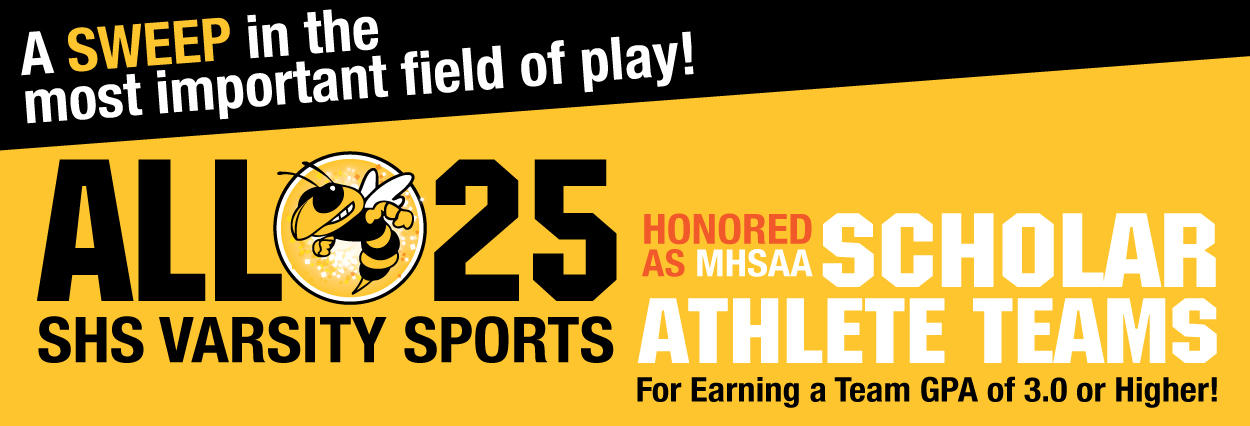 All 25 SHS Varsity Sports Honored as MHSAA Scholar Athlete Teams