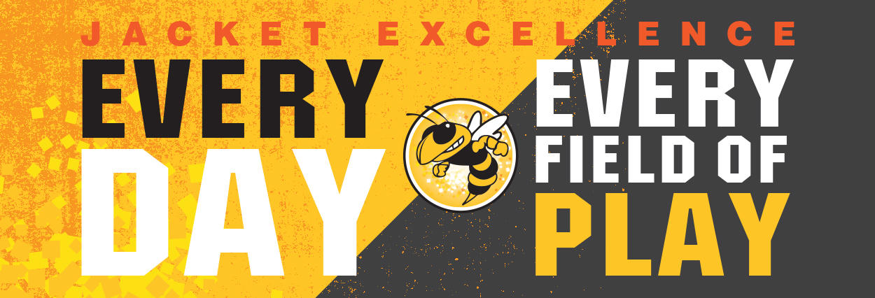 Spirit Graphic: Jacket Excellence, Every Day, Every Field of Play