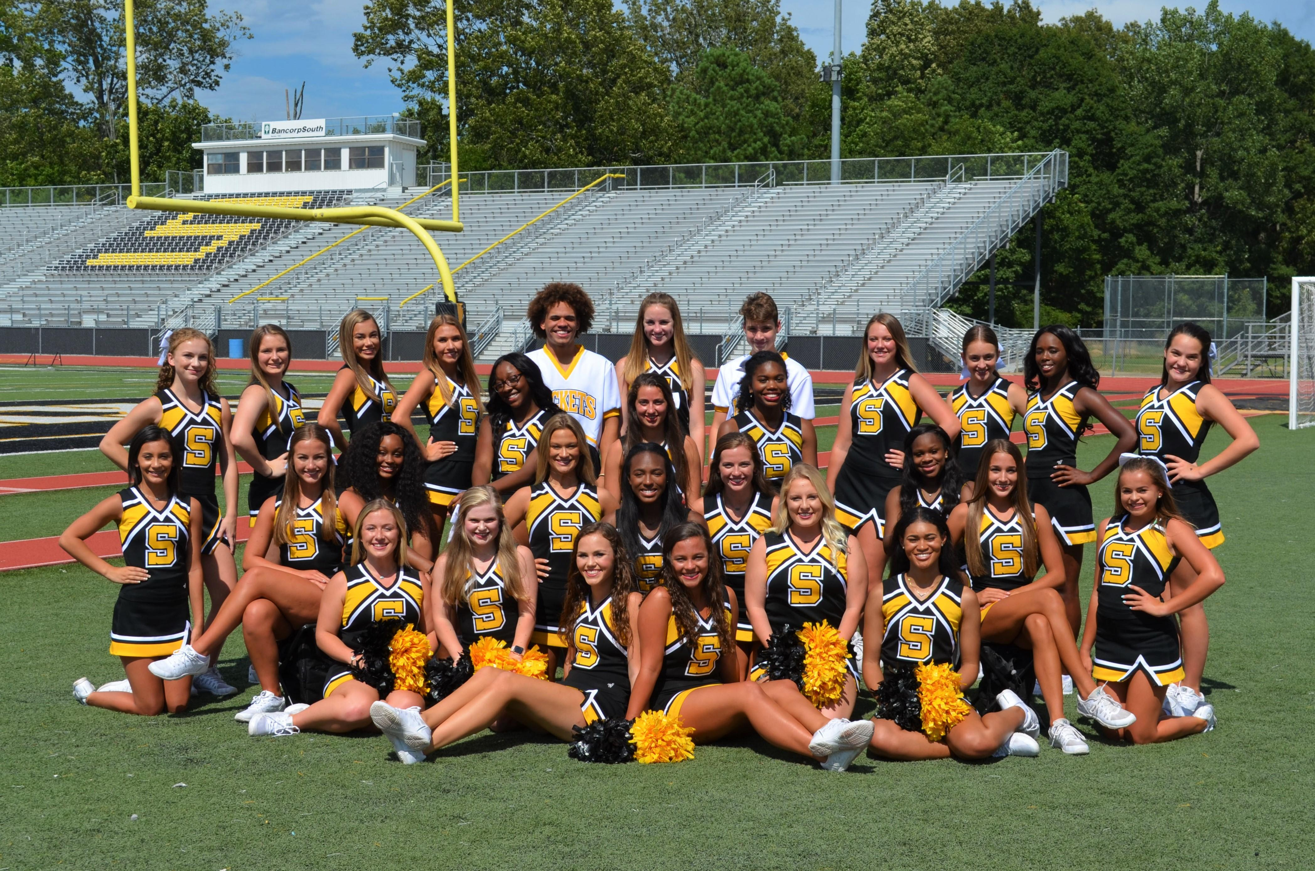 Starkville High School 2018 Cheer Squad