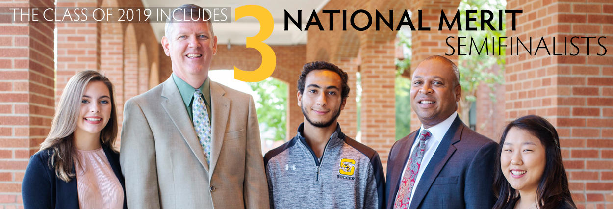 Class of 2019 includes 3 National Merit Semifinalists