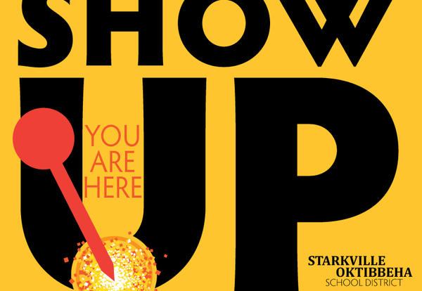 Show Up for Excellence logo graphic