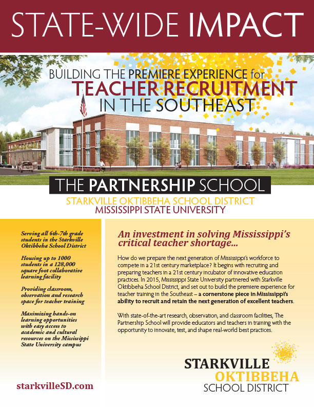 Thumbnail of State-Wide Impact flyer about the SOCSD Partnership School