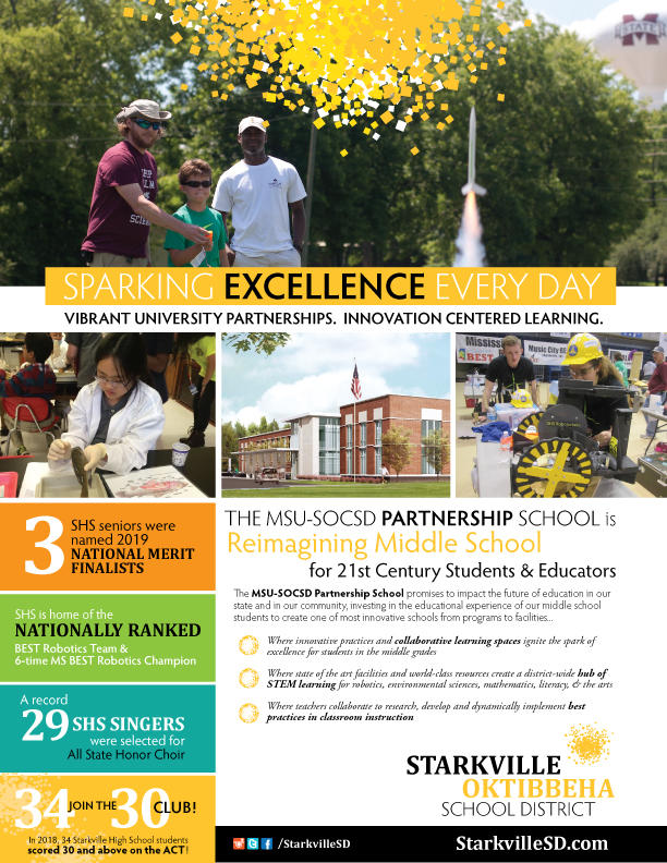 Thumbnail image of Sparking Excellence flyer