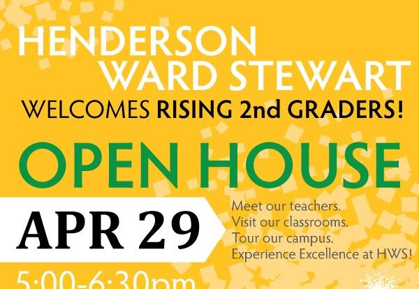 HWS Open House Information Graphic included in text