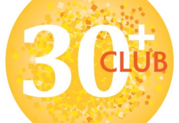 30+ Club Logo