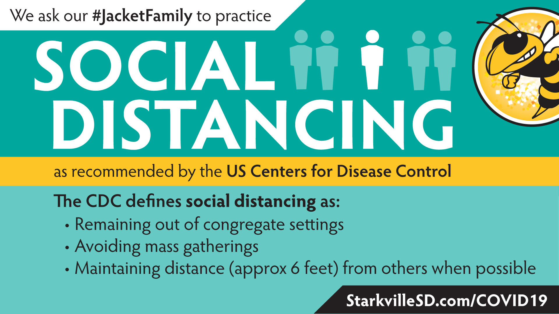Centers for Disease Control definition of social distancing