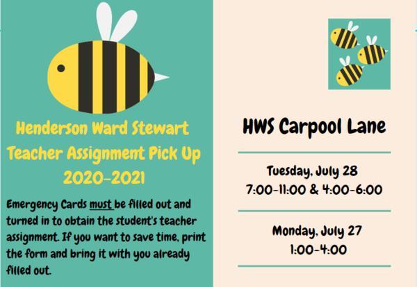 HWS Teacher Assignment