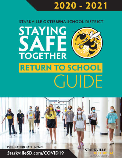SOSD Staying Safe Together Return to School Guide cover