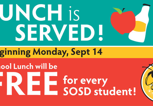 Free school lunch info graphic