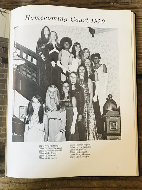 SHS 1970 Homecoming Court