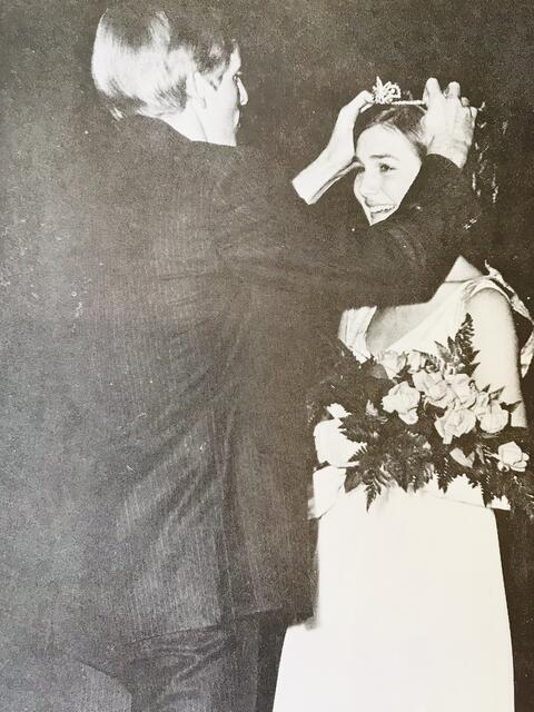 Angie Reed Crowned 1970 SHS Homecoming Queen