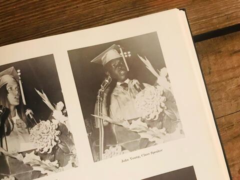 1971 SHS Graduation Speaker, John Young