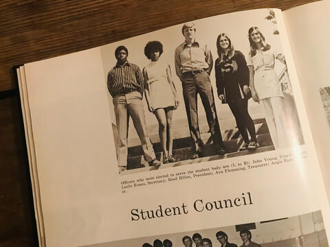 1971 SHS Student Council Officers