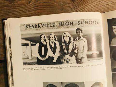 1971 Senior Class Officers