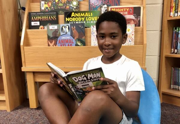 $16K Literacy Grant Funds Summer Camp Reading Adventure for 40 Students
