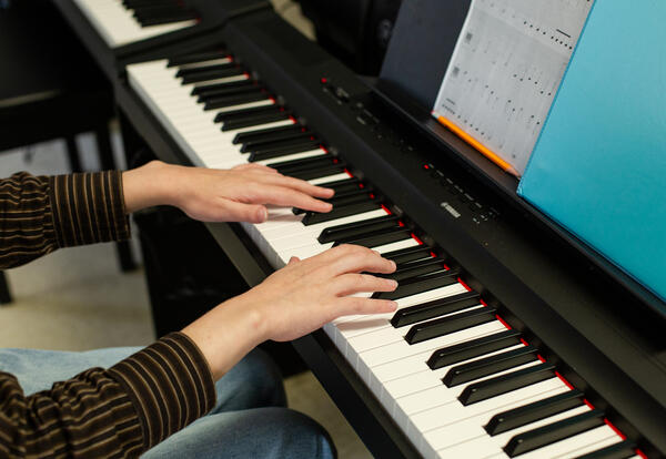 SHS Piano Lab Features First SHS Piano Ensemble