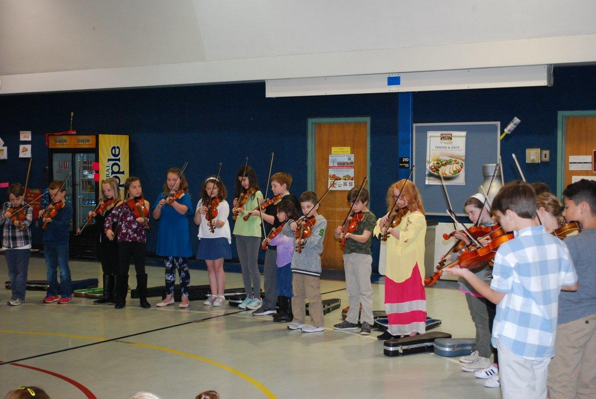 Point Road School Violin Students
