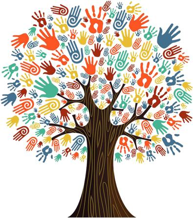 Tree of many hands