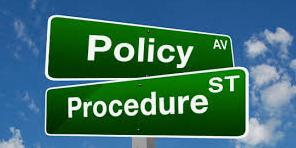 Policies & Procedures - Rule Acknowledgement Form