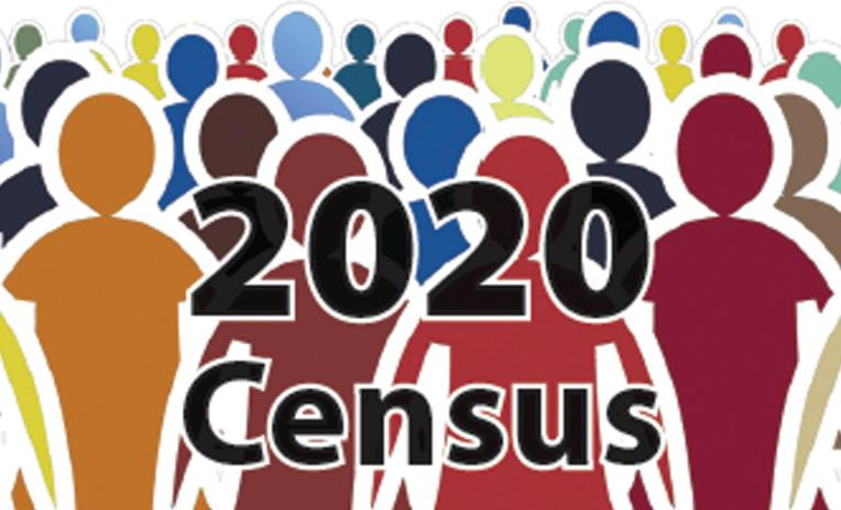 Silhouettes of people for 2020 Census