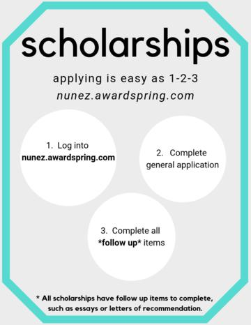 Scholarship How To Infographic