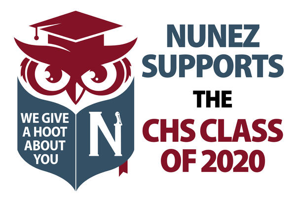 Nunez Supports the CHS Class of 2020
