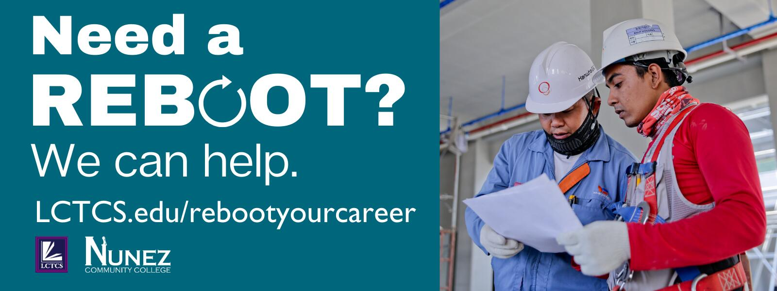 Reboot Your Career - Click Here for More Information