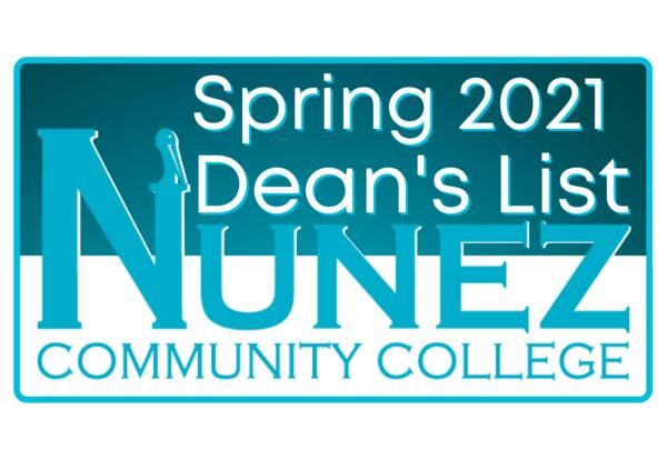 Spring 2021 Dean's List Logo
