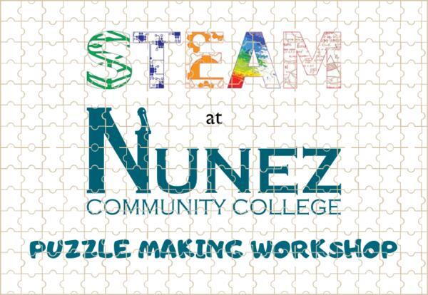 STEAM Puzzle Making Workshop Logo
