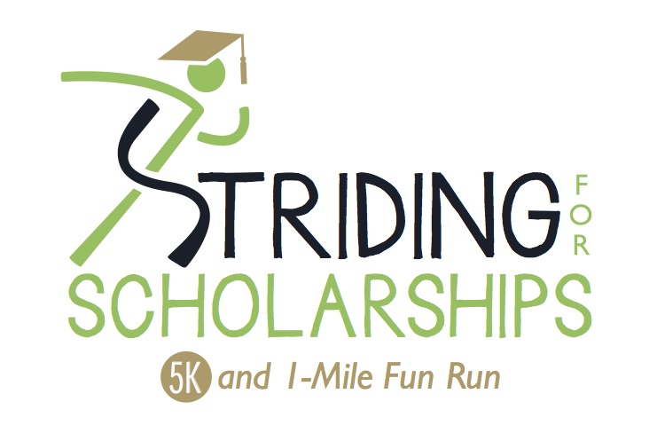 Striding for Scholarships logo