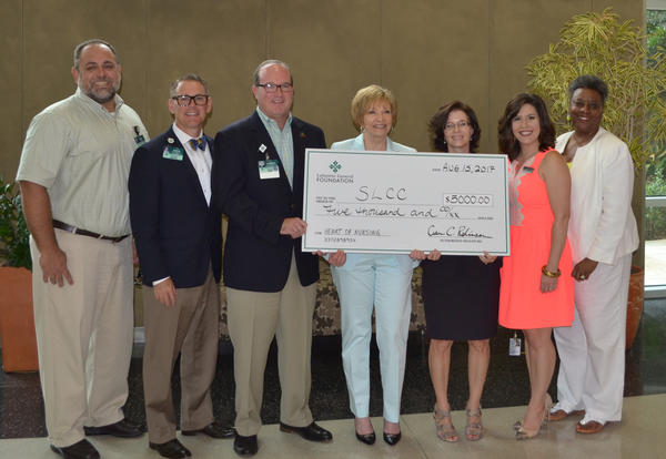 Lafayette General Health Supports Nursing Program with Donation