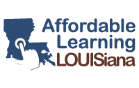 Affordable Learning Louisiana website
