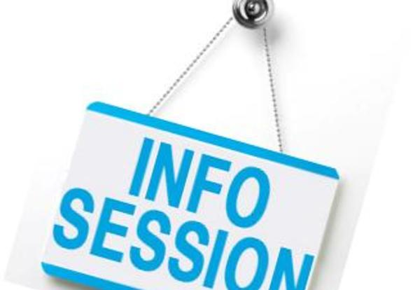 Info Session Sign