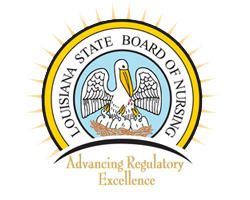 logo for Louisiana Board of Nursing