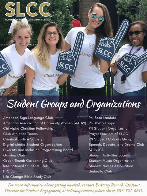 Student Groups and Organizations Photo