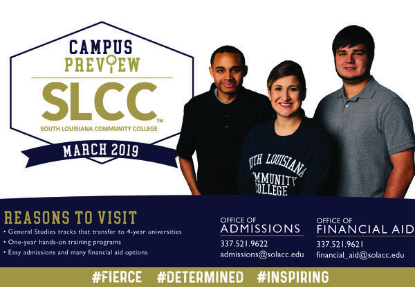 SLCC Campus Preview Days March 25 - 28